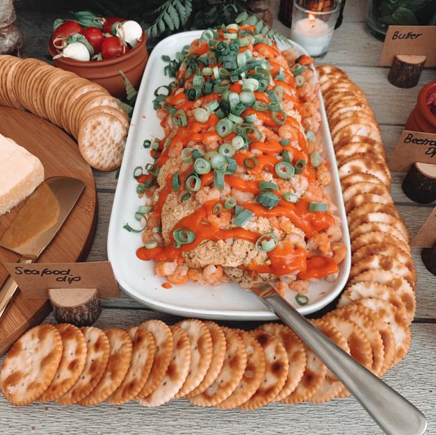 Seafood Dip $75