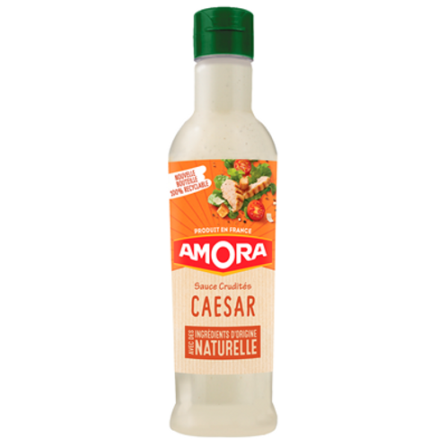 Salsa Crudité César natural 380ml Amora