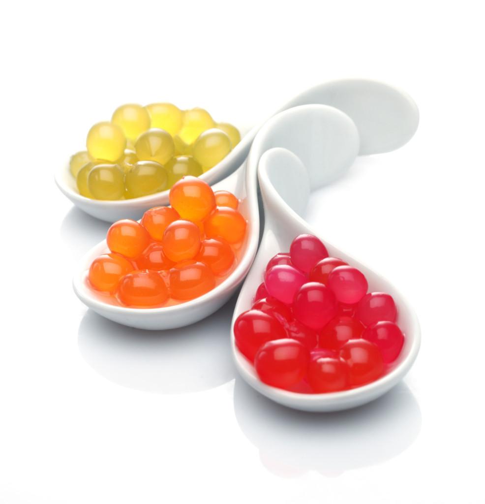Perlas Esferificadas