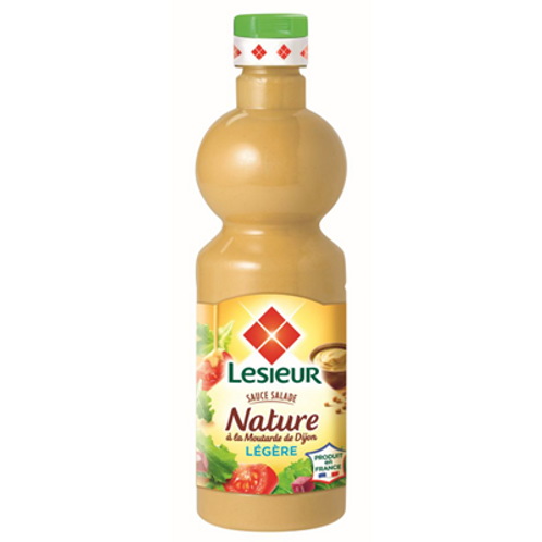 Salsa para ensaladas natural ligera 500ml Lesieur