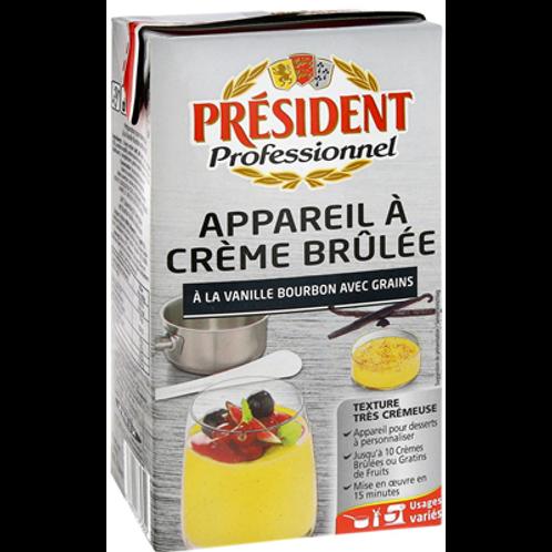 Preparación para Crème Brûlée a la Vainilla Bourbon (con semillas) 1L