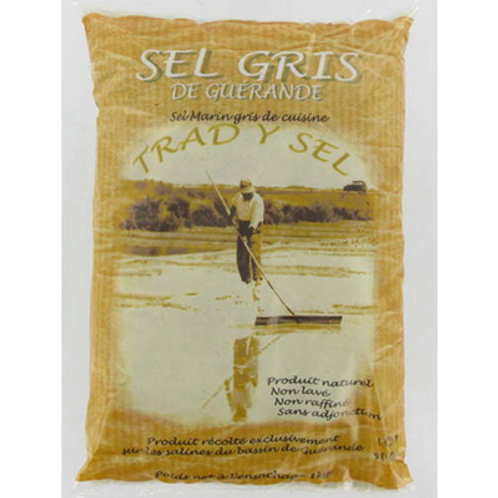 Sal Marina Gris Gorda de Guérande 800gr