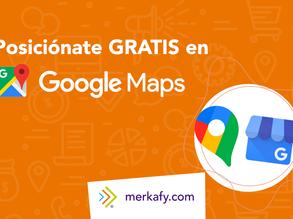 Posiciónate gratis en Google Maps