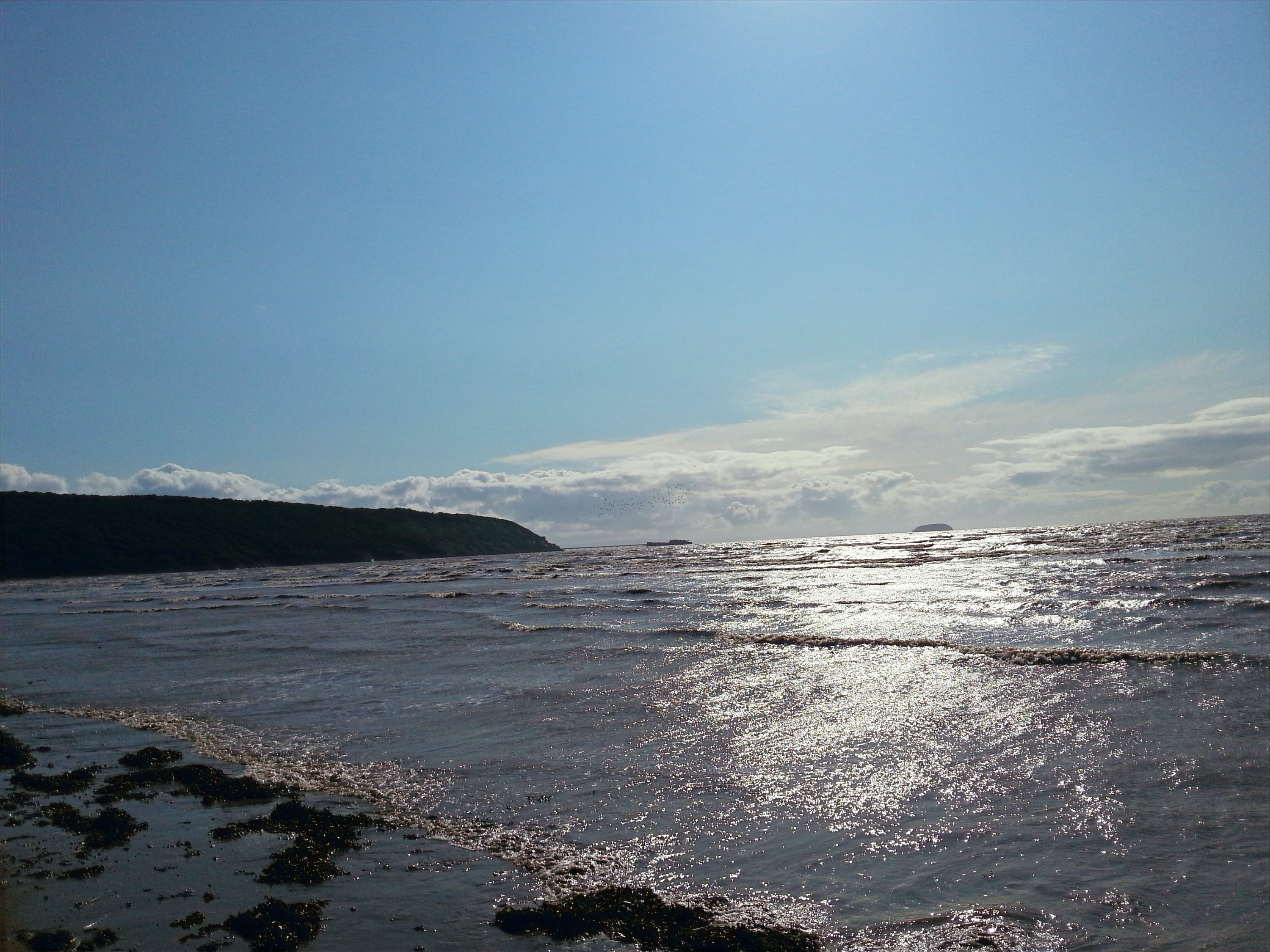 Tidal view from Sandbay
