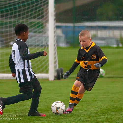 Under 9's Football Match