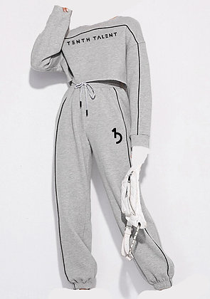 Grey 2 Piece Sweatset