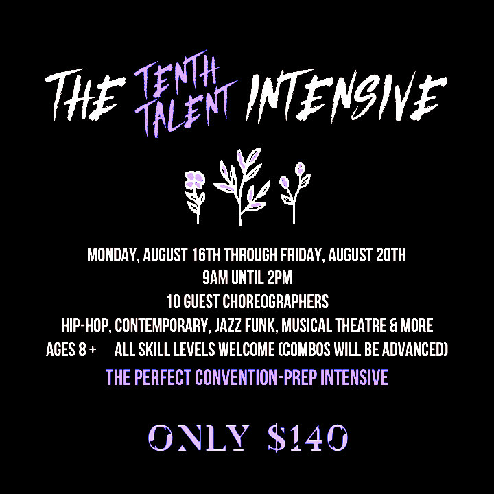 THE TENTH TALENT INTENSIVE
