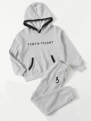 KIDS Grey 2 Piece Sweatset