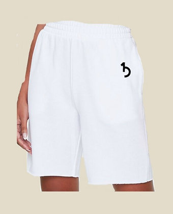 White Gym Shorts