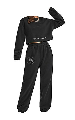 Black 2 Piece Sweatset