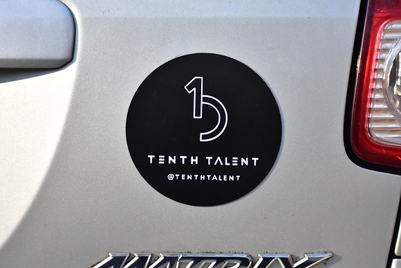 Tenth Talent Car Magnet