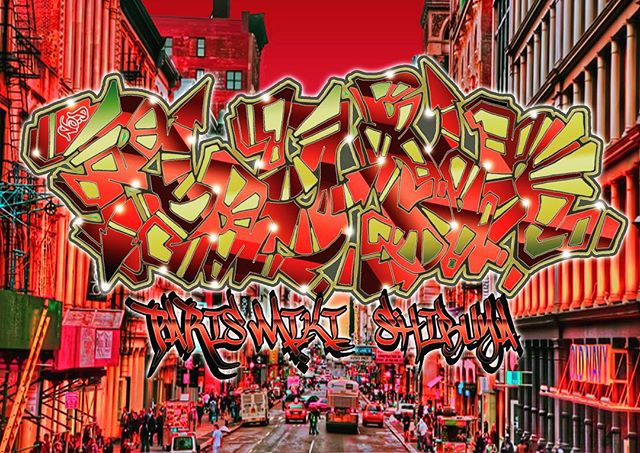 Ray-Ban _Paris MIKI SHIBUYA__#graffiti_#graffiart_#streetart_#montana94_#rayban_#roundevolution #shi
