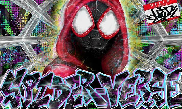 ドストライクな作品でした🗽🇺🇸 #スパイダーバース #スパイダーマン_#s