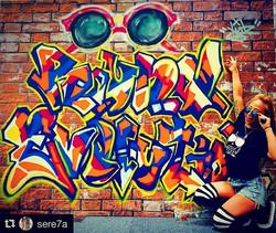 #graffiti#streetart #rayban #numberd#グラフィティ#ストリートアート#レイバン#展示会#ライブペイント#art#artwork