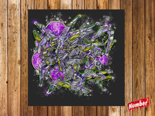 アートポスター:mecha crystal