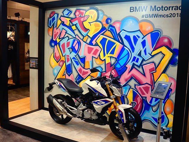 New Artwork for BMW G310R__#graffiti #streetart #numberd  #art #artwork #ストリートアート#tokyo#japanesearti