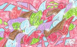 New Artwork 🎨✍ 【SPRING】🌸_#graffiti#gra