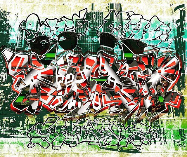 Ray-Ban Paris MIKI SHIBUYA__#graffiti_#graffiart_#streetart_#montana94_#rayban_#shibuya_#numberd_#ar
