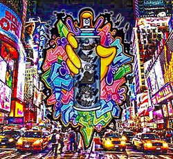 piece__#graffiti #streetart #numberd #nyc #ny #subway #グラフィティ#ニューヨーク #地下鉄 #subwayart #art #artwork #