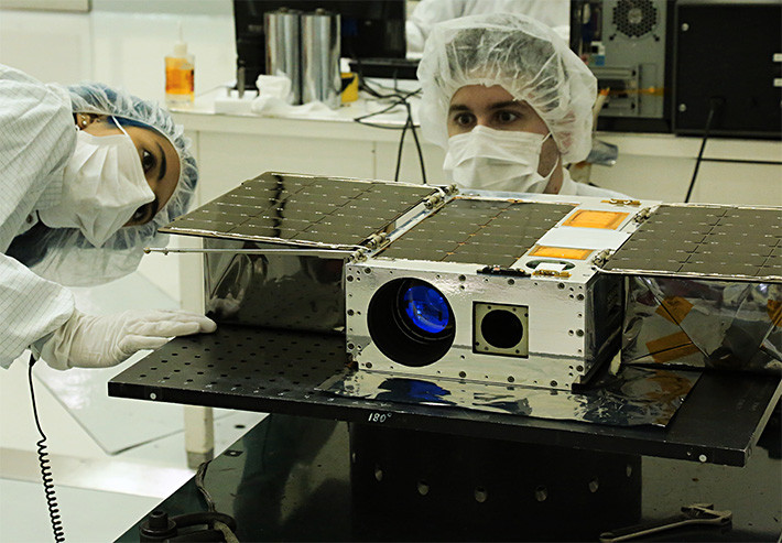 ASTERIA CubeSat space telescope