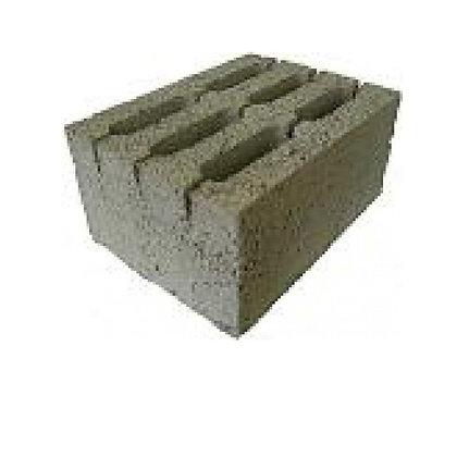 Блок керамзитобетонный 6-ти пустотный М75 Алексин