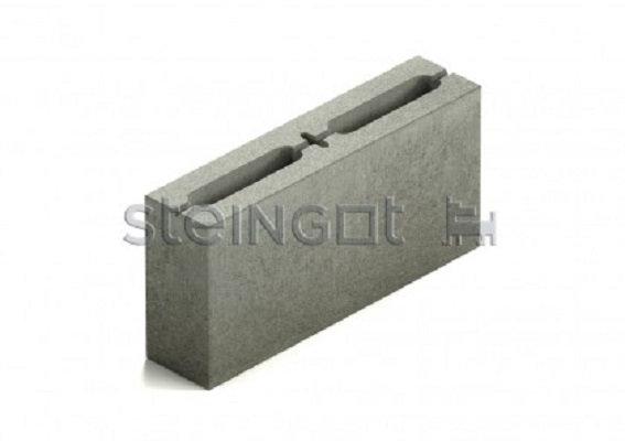 Блок перегородочный 2-х пустотный бетонный