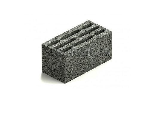 Блок стеновой восьмищелевой керамзитобетонный