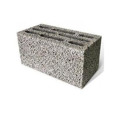 Блок керамзитобетонный 8-ми пустотный М75 Алексин
