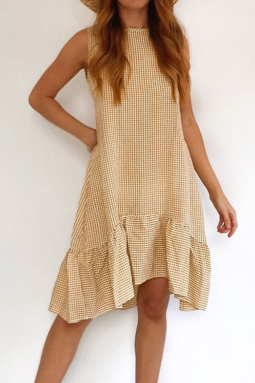 Amorini Gingham Dress
