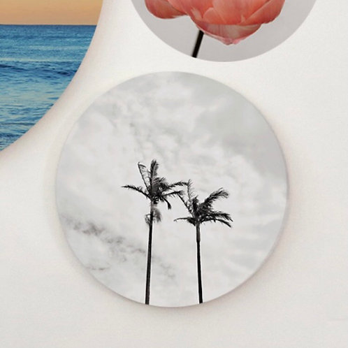 Round Palm Fine Art Piece by Jessica Ross Photograghy