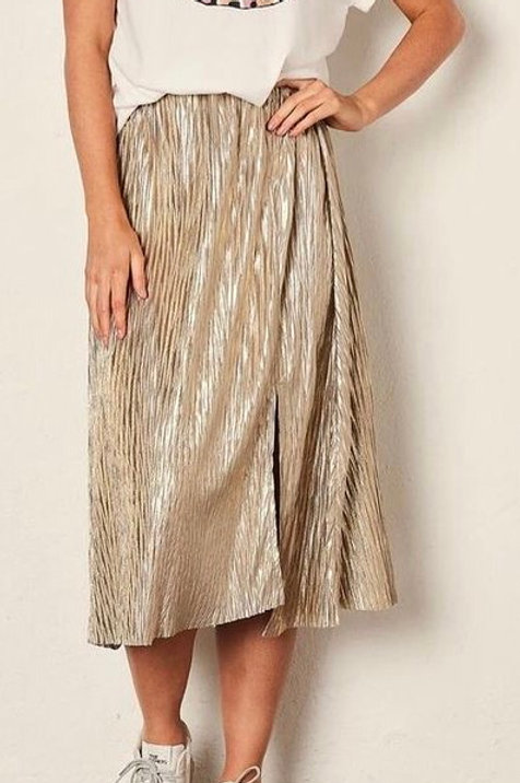 The Others Shadow Gold Skirt
