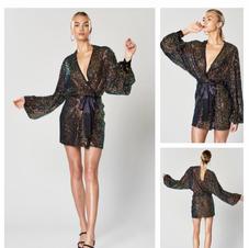 Winona Commix Sequin Wrap Dress
