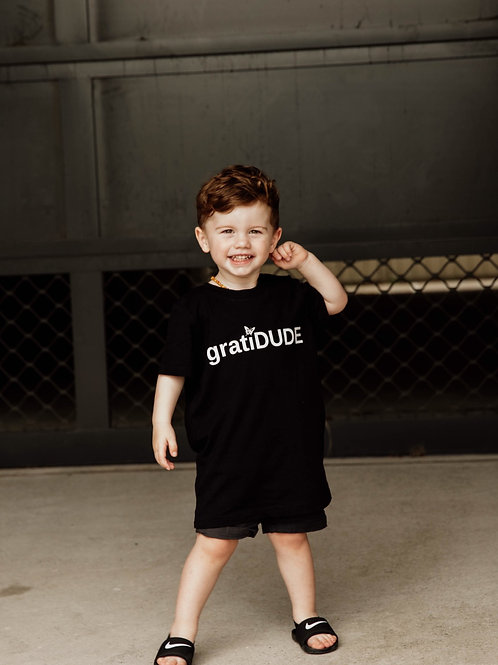 Boys Grateful gratiDUDE Tee (Butterfly Collection)