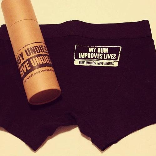 Buy Undies Give Undies Boxers