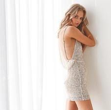 Winona Destiny Sequin Midi Dress