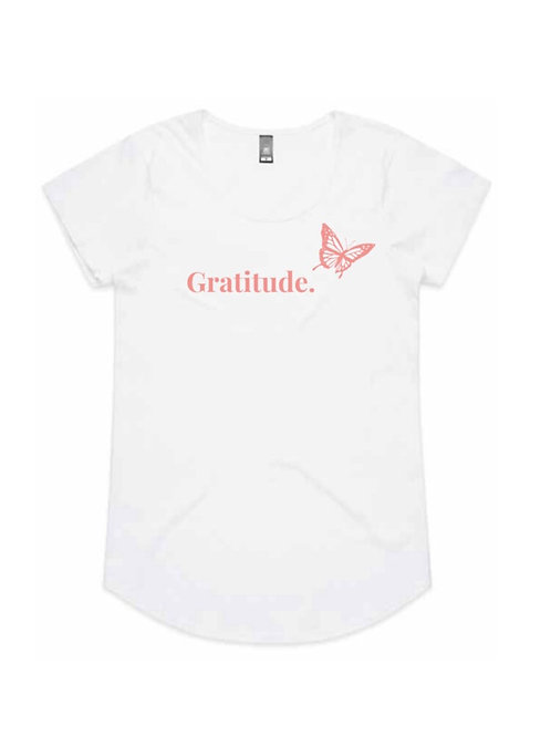 Grateful Kids Gratitude Tee (Butterfly Collection)