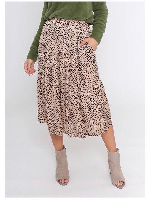 Leoni Milly Leopard Skirt