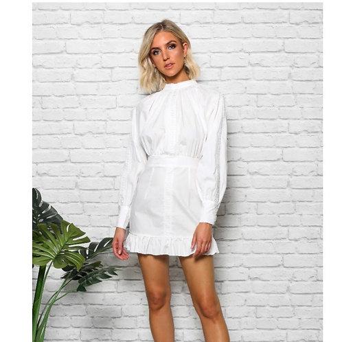 Fashion Lady Avery White Dress