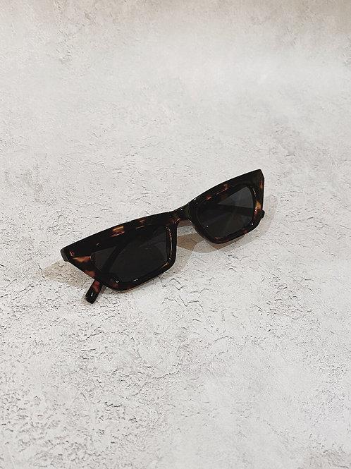 Gaia Angular Cat Eye Sunglasses - Tort by Angels Whisper