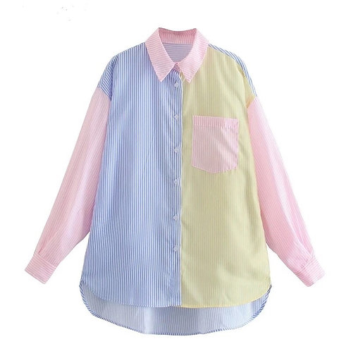 Amelia Cotton Striped Shirt by Eyes On Floyd