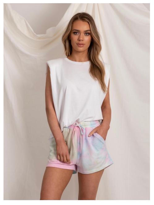 Lola Tie Dye Cotton Shorts