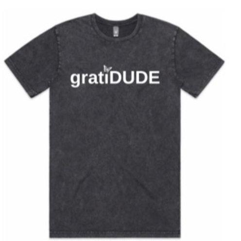Men's Grateful gratiDUDE Stonewash Tee (Butterfly Collection)