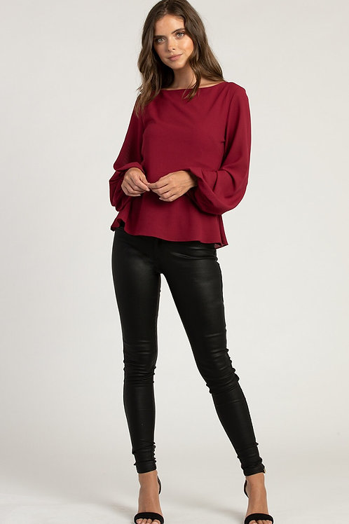 Textured Skinny Jeans with Zip Details by Style State