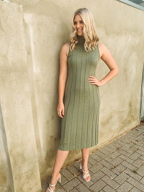 Harper Dress in Sage