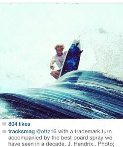 Board spray for Kai Otton