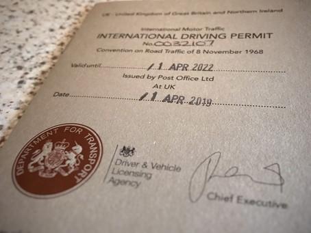 International driving permits