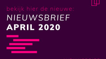 Nieuwsbrief April 2020