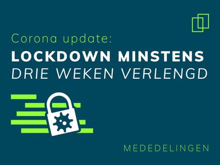 Corona update en enkele mededelingen