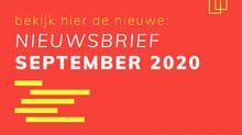 Nieuwsbrief september 2020
