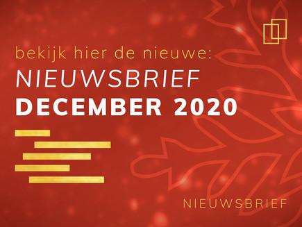 Nieuwsbrief december 2020